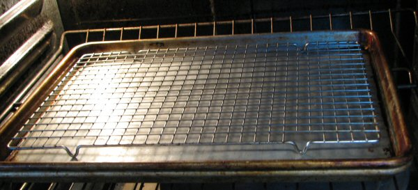 Wrming Rack in Oven